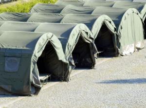 Zelt für Feldbett